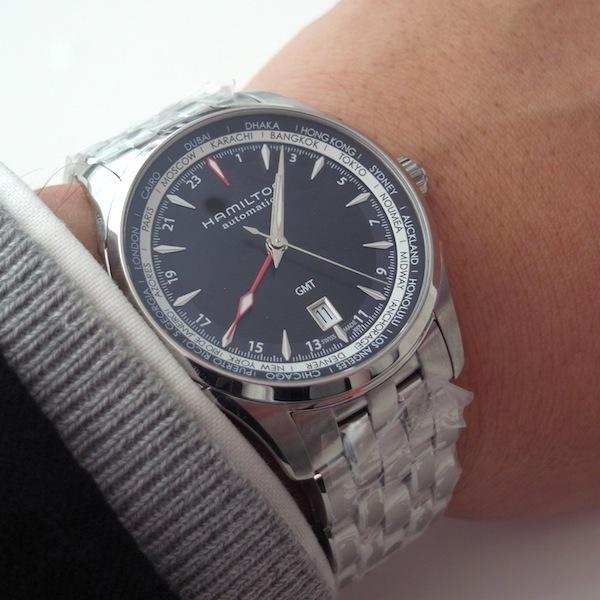 国内正規品ハミルトン ジャズマスター GMT  H32695131