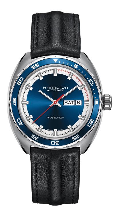 国内正規品ハミルトン認定商品 パンユーロ H35405941