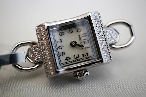 国内正規品ハミルトン レディハミルトン ヴィンテージ ダイアモンド H31291113