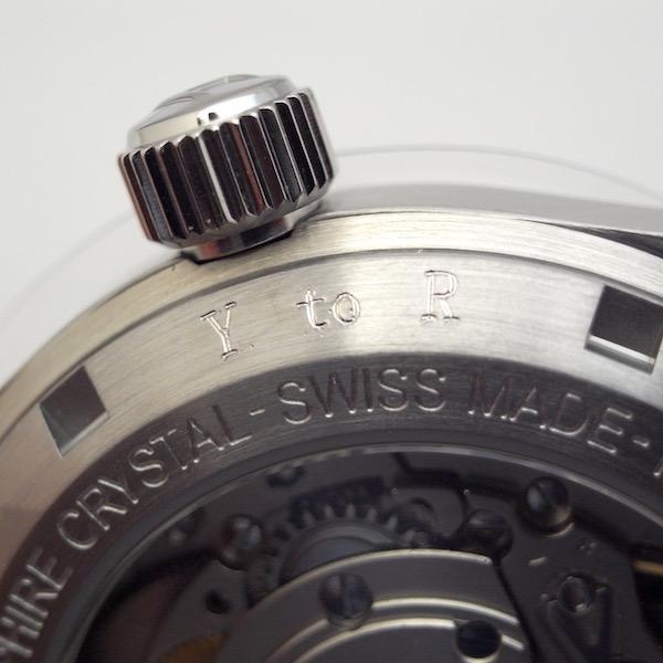 ハミルトン 時計 刻印サービス ランドホー